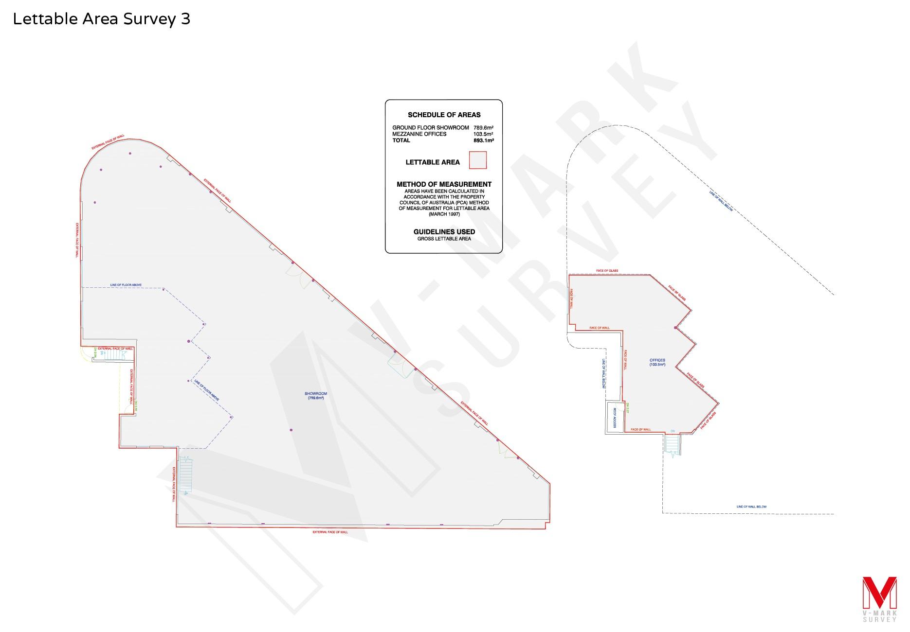 Lettable Area Survey