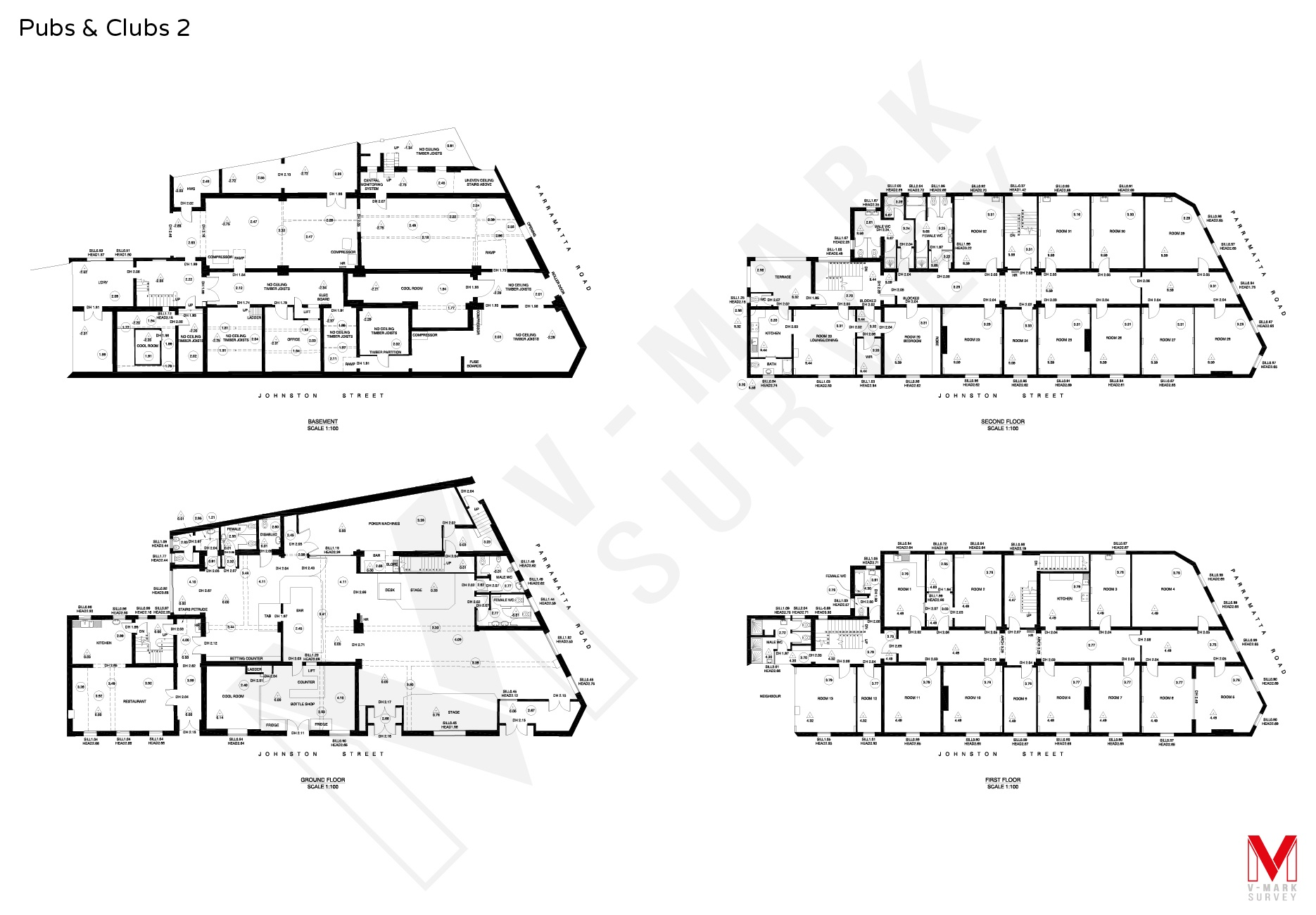 Pubs & Clubs Floorplans