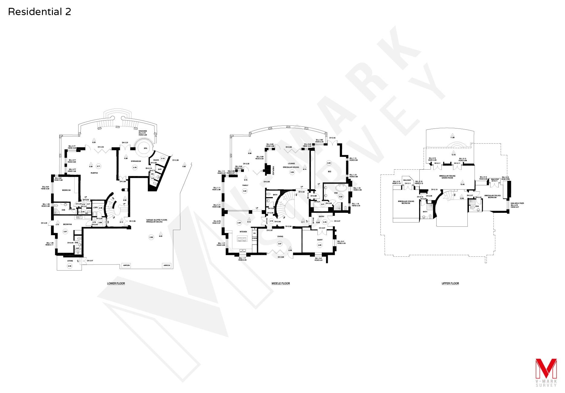 Residential Floorplans