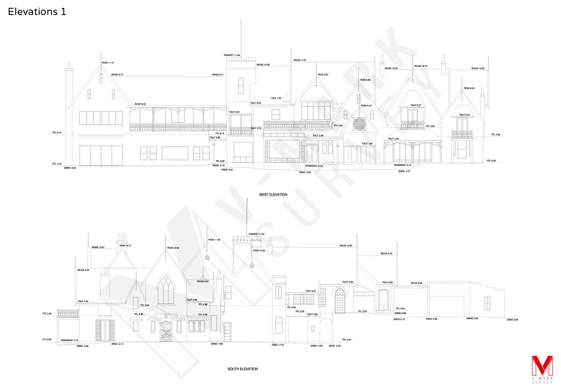 Measured Architectural Building Elevation Drawings Sydney