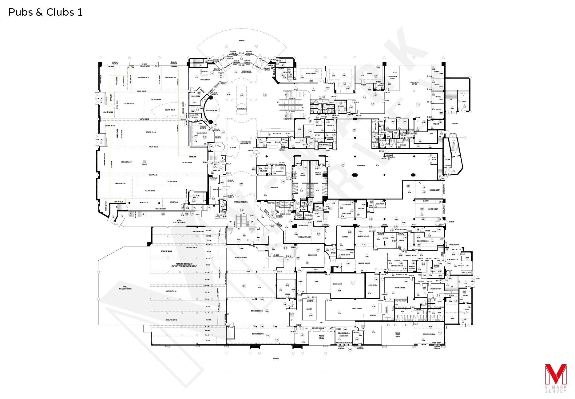 Pubs & Clubs Floorplans