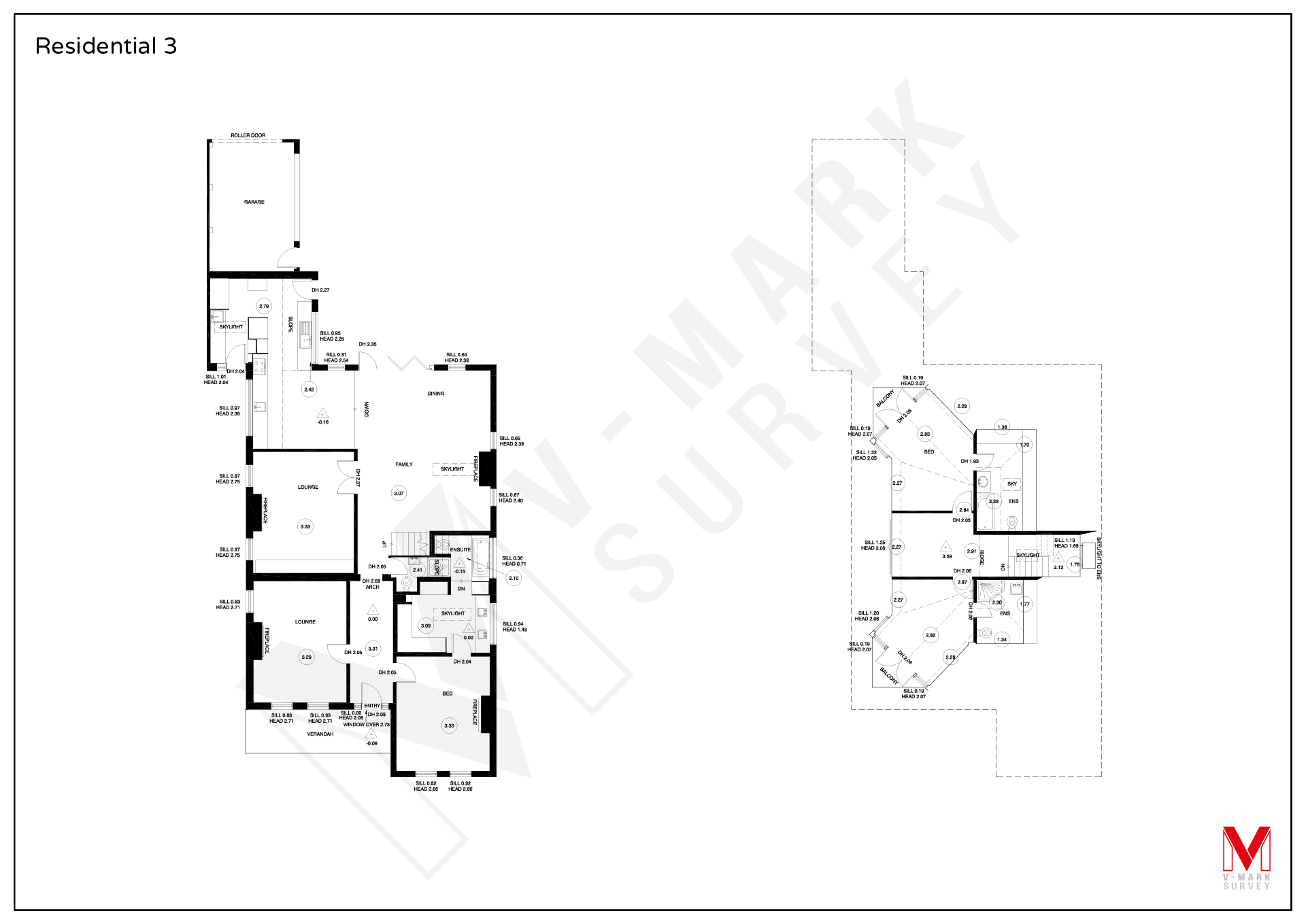 Residential Floor Plans