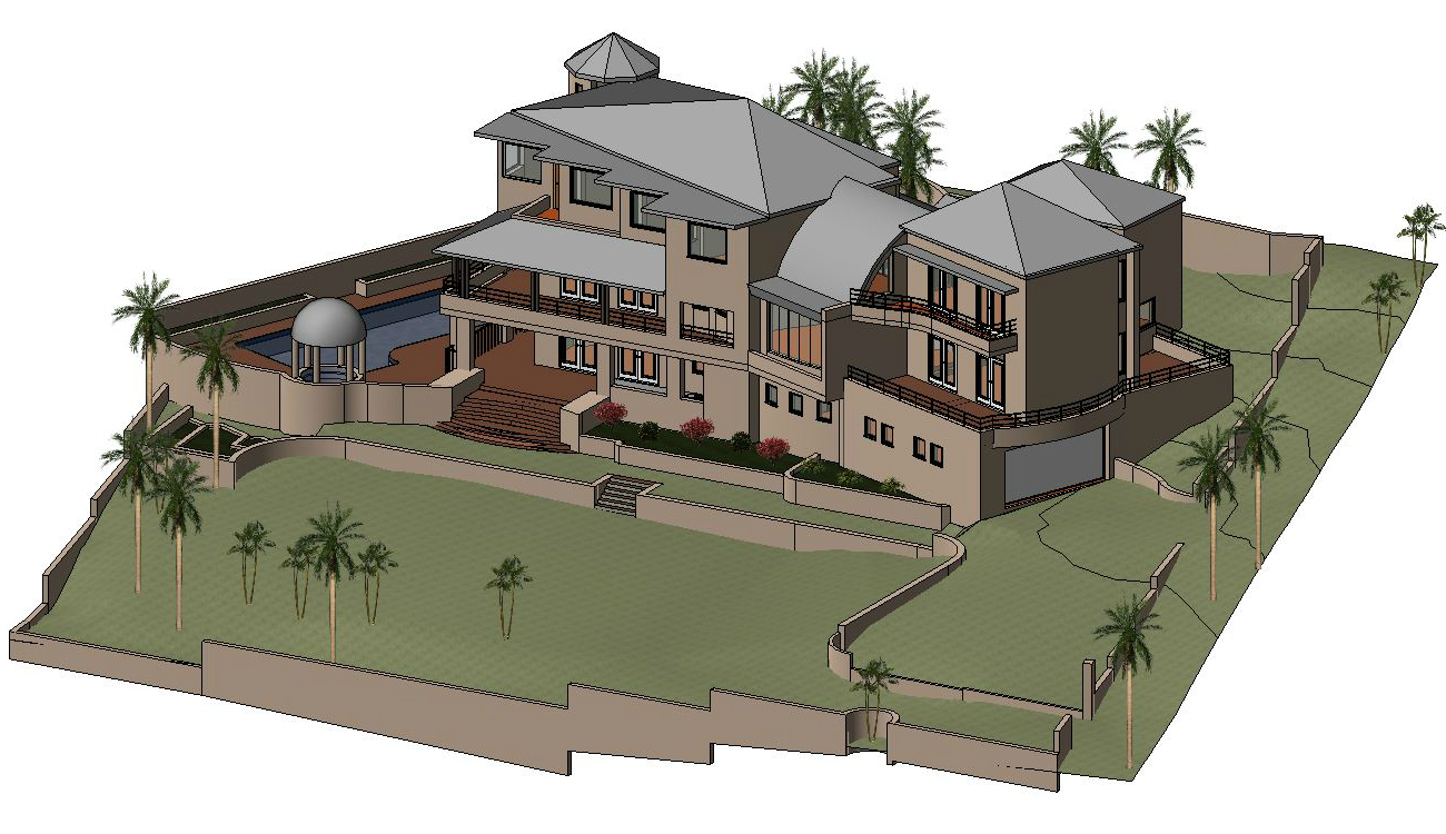 Residential Revit Model and Autocad Drawing | V-Mark Survey